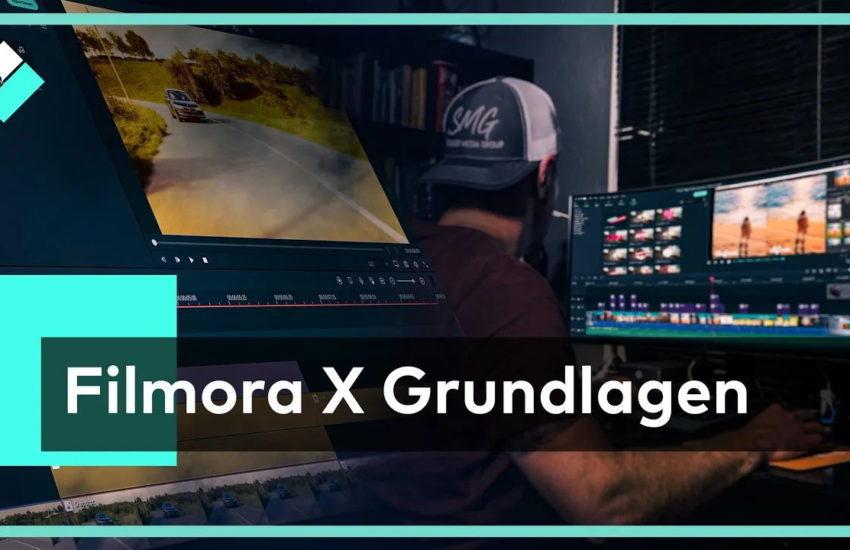 Wondershare Filmora Videobearbeitung