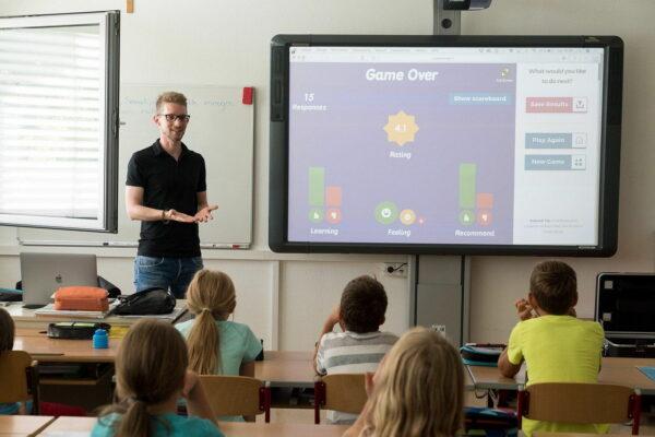 digitales, interaktives Whiteboard