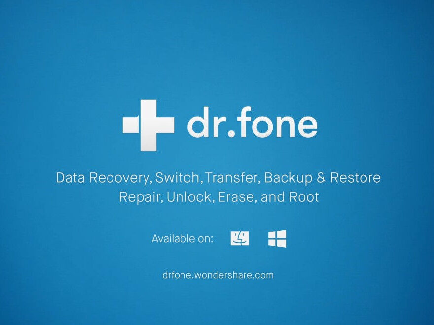 Screenshot Wondershare Dr.Fone