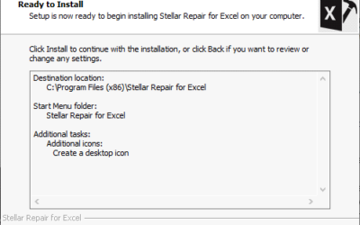 Stellar Repair for Excel installieren