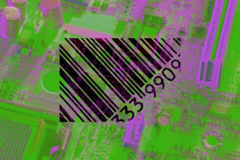 Barcodes erobern die Märkte
