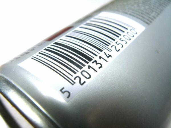 Barcode auch Strichcode genannt