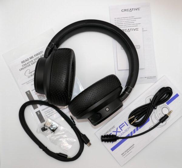 Creative SXFI AIR GAMER Headset Lieferumfang