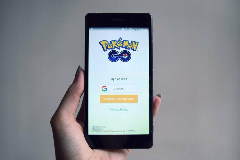 Mobile Gaming z.B. Pokemon Go