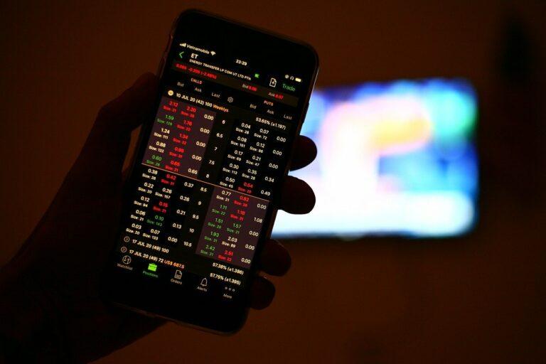 Apps und Softwareprogramme für Aktien-Trader