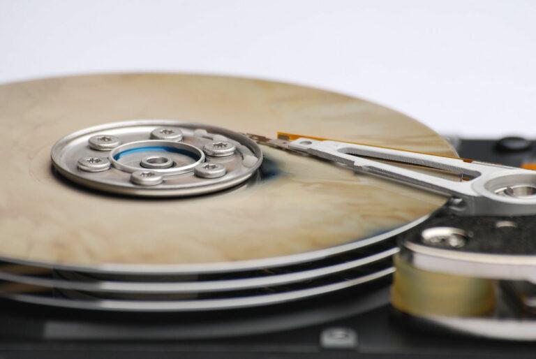 Datenverlust durch defekte Festplatte