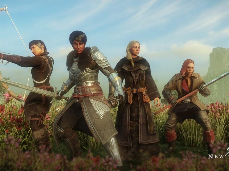New World Massively-Multiplayer-Online-Role-Playing-Game, kurz MMORPG